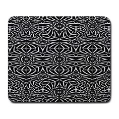 Black and White Tribal Pattern Large Mousepads