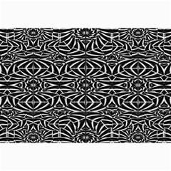 Black And White Tribal Pattern Collage Prints