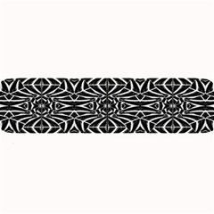 Black and White Tribal Pattern Large Bar Mats