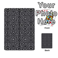 Black and White Tribal Pattern Multi-purpose Cards (Rectangle)