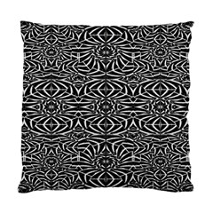 Black and White Tribal Pattern Standard Cushion Case (Two Sides)