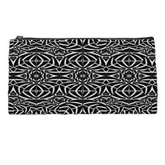 Black and White Tribal Pattern Pencil Cases