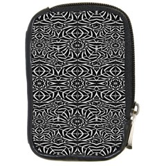 Black and White Tribal Pattern Compact Camera Cases