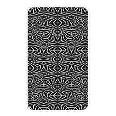 Black and White Tribal Pattern Memory Card Reader