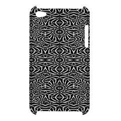 Black and White Tribal Pattern Apple iPod Touch 4