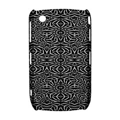 Black and White Tribal Pattern Curve 8520 9300