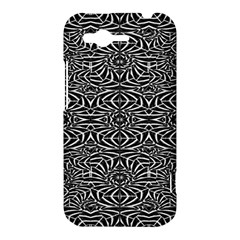 Black and White Tribal Pattern HTC Rhyme