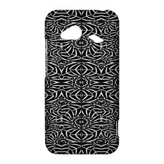 Black and White Tribal Pattern HTC Droid Incredible 4G LTE Hardshell Case