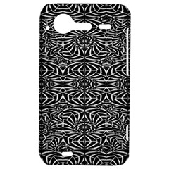 Black and White Tribal Pattern HTC Incredible S Hardshell Case