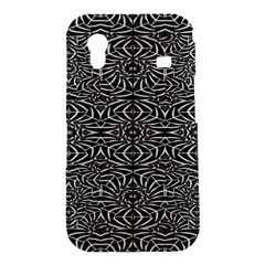 Black and White Tribal Pattern Samsung Galaxy Ace S5830 Hardshell Case