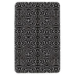 Black and White Tribal Pattern Kindle Fire (1st Gen) Hardshell Case