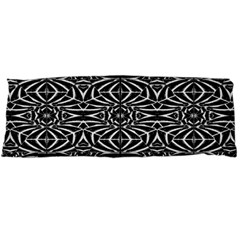 Black and White Tribal Pattern Body Pillow Case Dakimakura (Two Sides)