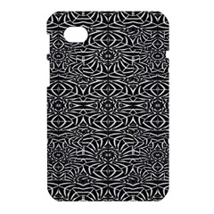 Black and White Tribal Pattern Samsung Galaxy Tab 7  P1000 Hardshell Case