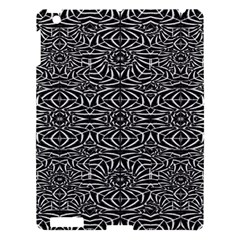 Black and White Tribal Pattern Apple iPad 3/4 Hardshell Case