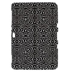 Black and White Tribal Pattern Samsung Galaxy Tab 8.9  P7300 Hardshell Case
