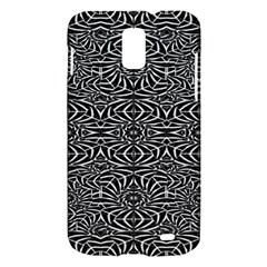 Black and White Tribal Pattern Samsung Galaxy S II Skyrocket Hardshell Case