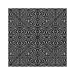 Black and White Tribal Pattern Acrylic Tangram Puzzle (6  x 6 )
