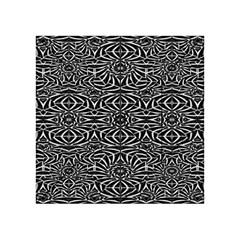 Black and White Tribal Pattern Acrylic Tangram Puzzle (4  x 4 )