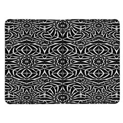 Black and White Tribal Pattern Kindle Fire (1st Gen) Flip Case