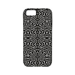 Black and White Tribal Pattern Apple iPhone 5 Classic Hardshell Case (PC+Silicone)