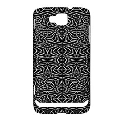 Black and White Tribal Pattern Samsung Ativ S i8750 Hardshell Case