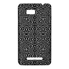 Black and White Tribal Pattern HTC One SU T528W Hardshell Case
