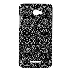 Black and White Tribal Pattern HTC Butterfly X920E Hardshell Case