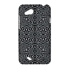Black and White Tribal Pattern HTC Desire VC (T328D) Hardshell Case