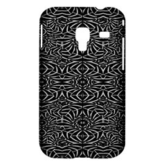 Black and White Tribal Pattern Samsung Galaxy Ace Plus S7500 Hardshell Case