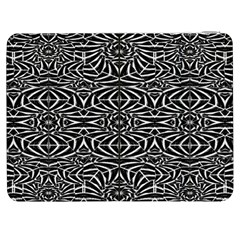 Black and White Tribal Pattern Samsung Galaxy Tab 7  P1000 Flip Case
