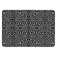 Black and White Tribal Pattern Samsung Galaxy Tab 8.9  P7300 Flip Case
