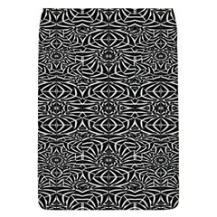 Black and White Tribal Pattern Flap Covers (L)