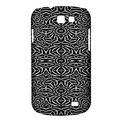 Black and White Tribal Pattern Samsung Galaxy Express I8730 Hardshell Case