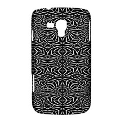 Black and White Tribal Pattern Samsung Galaxy Duos I8262 Hardshell Case