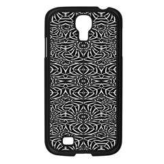 Black and White Tribal Pattern Samsung Galaxy S4 I9500/ I9505 Case (Black)