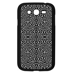 Black and White Tribal Pattern Samsung Galaxy Grand DUOS I9082 Case (Black)