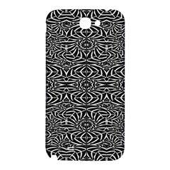 Black and White Tribal Pattern Samsung Note 2 N7100 Hardshell Back Case