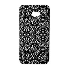 Black and White Tribal Pattern HTC Butterfly S/HTC 9060 Hardshell Case