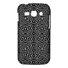 Black and White Tribal Pattern Samsung Galaxy Ace 3 S7272 Hardshell Case