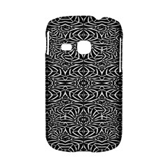 Black and White Tribal Pattern Samsung Galaxy S6310 Hardshell Case