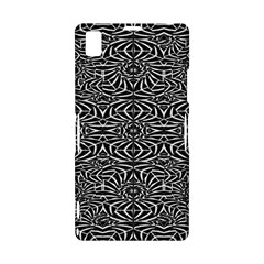 Black and White Tribal Pattern Sony Xperia Z1