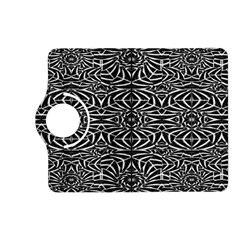 Black and White Tribal Pattern Kindle Fire HD (2013) Flip 360 Case