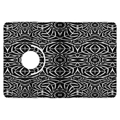 Black and White Tribal Pattern Kindle Fire HDX Flip 360 Case