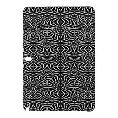 Black and White Tribal Pattern Samsung Galaxy Tab Pro 10.1 Hardshell Case