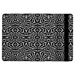 Black and White Tribal Pattern iPad Air Flip