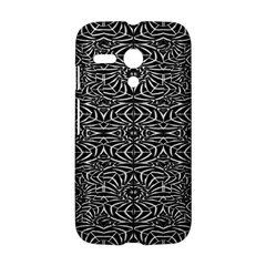 Black and White Tribal Pattern Motorola Moto G