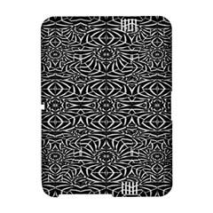 Black and White Tribal Pattern Amazon Kindle Fire (2012) Hardshell Case