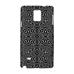 Black and White Tribal Pattern Samsung Galaxy Note 4 Hardshell Case