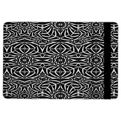 Black and White Tribal Pattern iPad Air 2 Flip