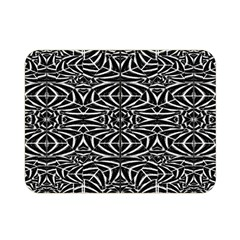 Black and White Tribal Pattern Double Sided Flano Blanket (Mini)